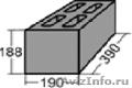 Стеновой керамзитобетонный блок