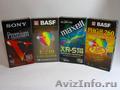 Продаются новые видекассеты VHS и Super VHS