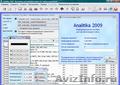 Analitika 2009 - Бесплатная программа для автоматизации учета и управления