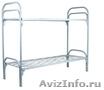 Кровати металлические одноярусные и двухъярусные - опт от 10 шт.