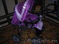 Продам коляску трансформер для девочки