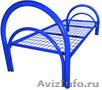 кровати металлические для рабочих, кровати одноярусные и двухъярусные оптом - Изображение #2, Объявление #701262