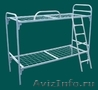 Кровати металлические двухъярусные, одноярусные, кровати для рабочих, опт - Изображение #3, Объявление #1480261